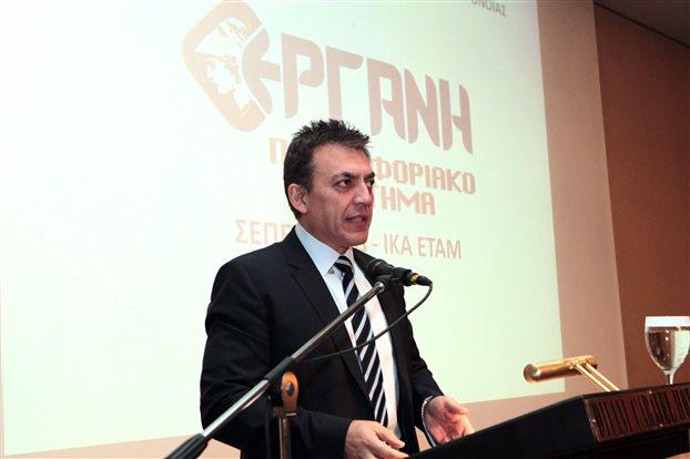 Υπουργός Εργασίας Γ. Βρούτσης