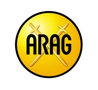 Το λογότυπο της Arag νομικής προστασίας