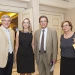 Από αριστερά : ο κ. Ν. Κανελλόπουλος, Γ.Γ. Υπουργείου Δικαιοσύνης, η κ. Ν. Σταυρογιάννη, Πρόεδρος της Επιτροπής Νομικής Προστασίας της ΕΑΕΕ, ο κ. Ε. Ζερβέας, Συνήγορος του Καταναλωτή και η κ. Μ. Αντωνάκη, Γεν. Διευθύντρια ΕΑΕΕ