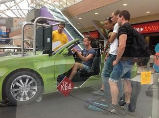 Driving simulator @Mall Athensl