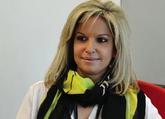 κ. Μαρίνα Νικολάου, CEO της Πειραιώς Πρακτορειακής & Τεχνική Διευθύντρια της Πειραιώς Ασφαλιστικών & Αντασφαλιστικών Εργασιών