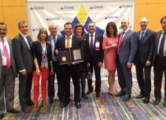 Η ομάδα των Συντονιστών του δικτύου της INTERAMERICAN, που συμμετείχε στο συνέδριο της GAMA International.