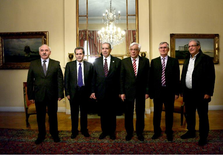 Αντιπροσωπεία ΠΙΣ στον Πρόεδρο της Δημοκρατίας