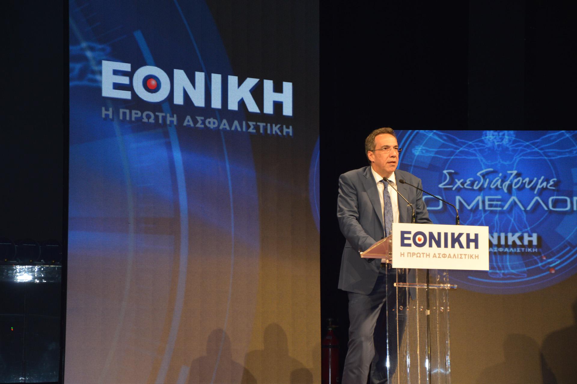 Ο Διευθύνων Σύμβουλος της Εθνικής Τράπεζας Λεωνίδας Φραγκιαδάκης.