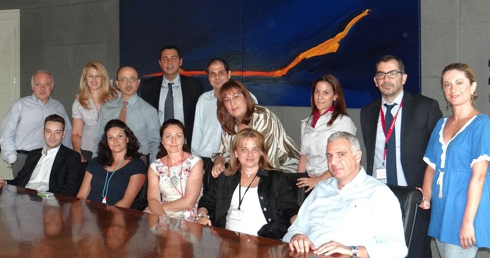 Η ομάδα σύνταξης του Απολογισμού ΕΚΕ της INTERAMERICAN