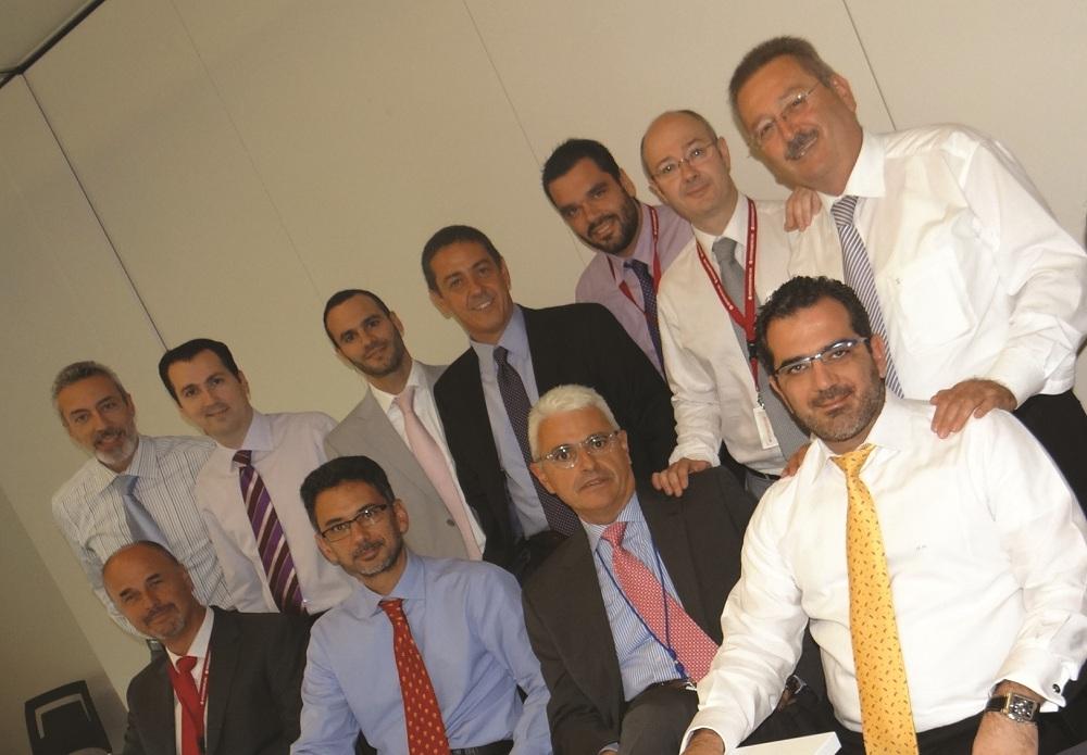 Διοικητικά στελέχη των πωλήσεων της INTERAMERICAN.