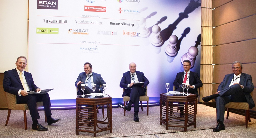 (από αριστερά) Οι κ. Ν. Κωνσταντέλλος, Ε.Βασιλάκης, Κ. Ευρυπίδης, Δ. Παπαλεξόπουλος & Α.Πεταλάς.