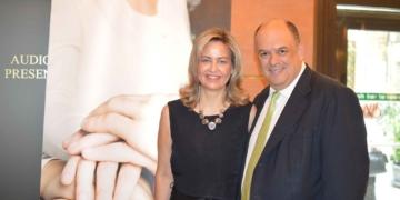 Η κ. Ν. Σταυρογιάννη, Διευθύνουσα Σύμβουλος της D.A.S. Hellas με τον κ. Δ. Φαραντούρη, Ιδρυτή της FARANTOURIS financial advisors.