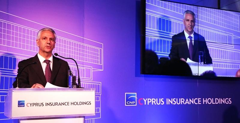 Ο Τάκης Φειδία, Πρώτος Εκτελεστικός ∆ιευθυντής του Οµίλου CNP CYPRUS.