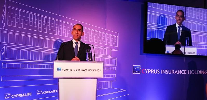 Ο Χάρης Γεωργιάδης, Υπουργός Οικονομικών.