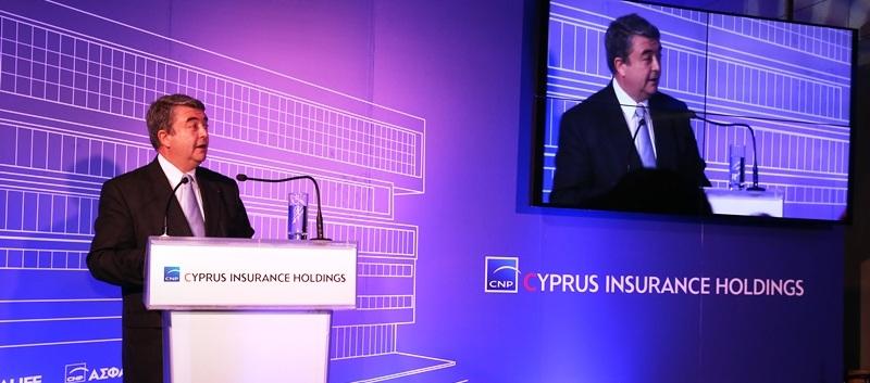 Ο Xavier Larnaudie-Eiffel, Αν. ∆ιευθύνων Σύµβουλος της CNP ASSURANCES και Πρόεδρος του ∆ιοικητικού Συµβουλίου της CNP CYPRUS.