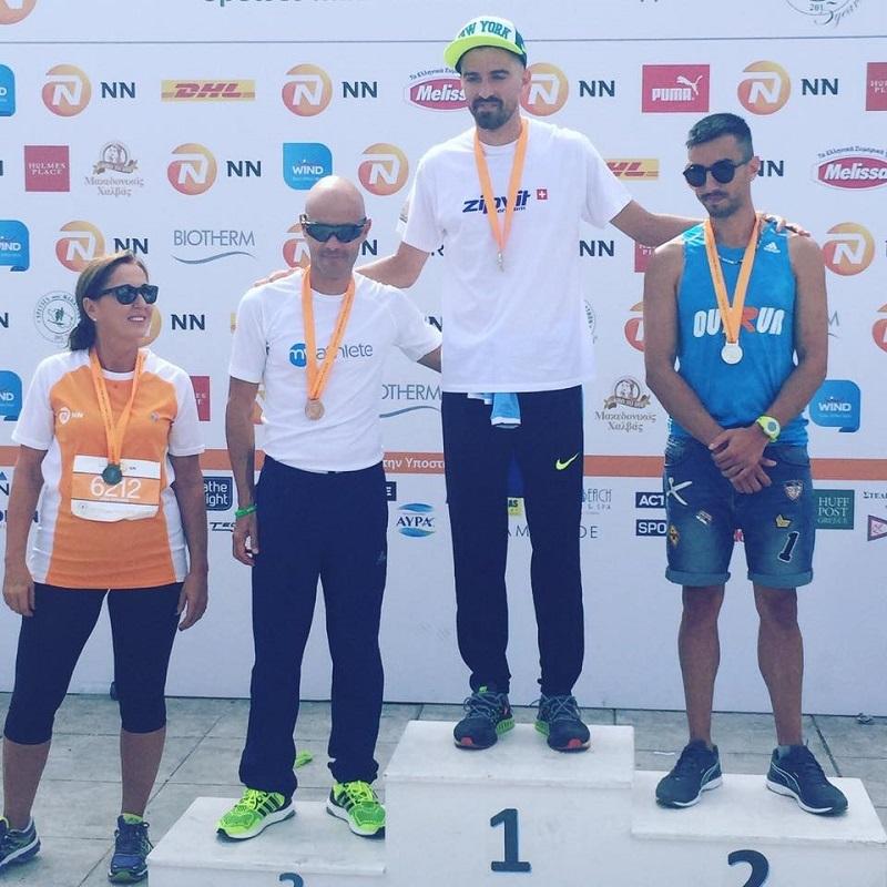 Proud Winners! Οι νικητές του Αγώνα Δρόμου 5χλμ παρέλαβαν τα μετάλλιά τους από τη Σοφία Ρατσιάτου, Chief Sales Officer της NN Hellas. Συγχαρητήρια σε όλους τους δρομείς!