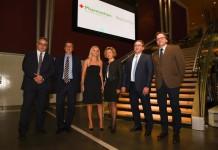 Ο κ. Σωτήρης Θυμωδέας (Group Product Manager, Pharmathen), κ. Στέλιος Λουκίδης, κ. Μαριάννα Αναστασάκου, κ. Μίνα Γκάγκα, κ. Θεόδωρος Βασιλακόπουλος & κ. Γεώργιος Χειλάς.