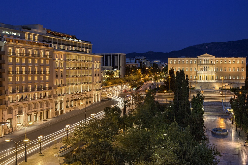 Hotel Grande Bretagne King George Athens