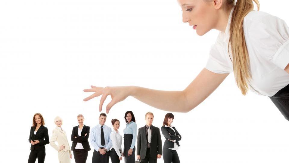 choosing employee