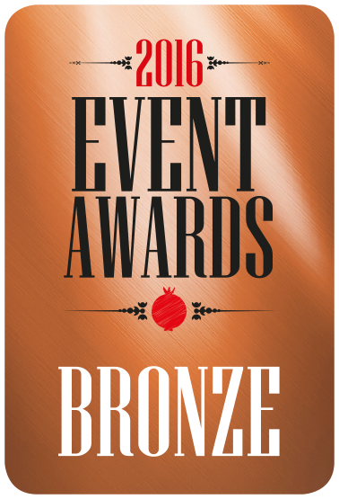 Events awards stickers 2016_BRONZE