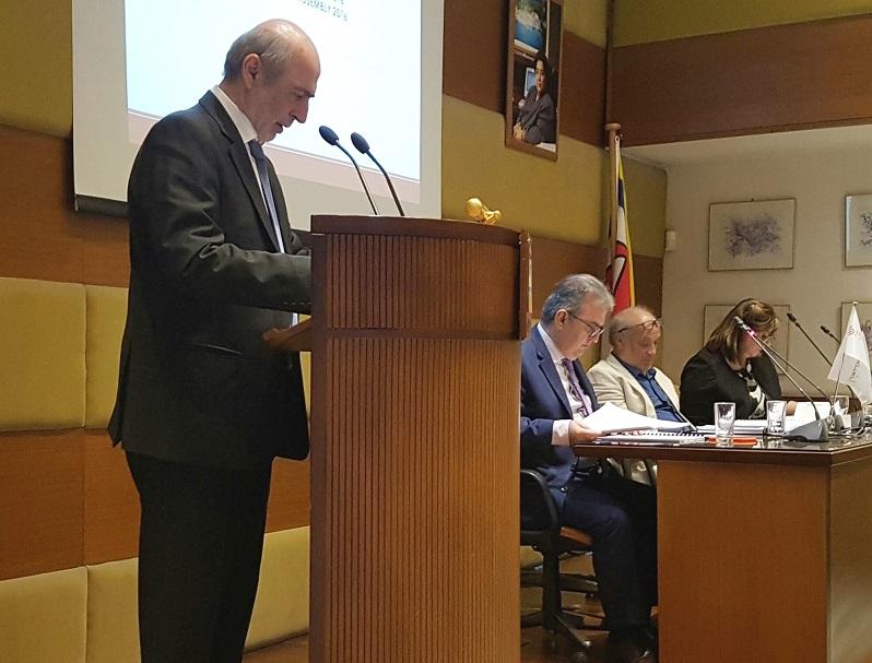 Θωμάς Ιωαννίδης, πρόεδρος της Συνεταιριστικής Ασφαλιστικής