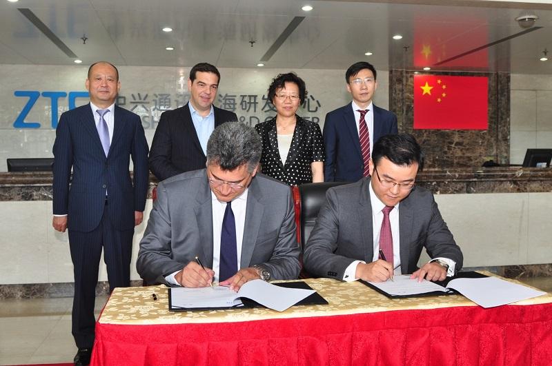 Σύμφωνο Συνεργασίας μεταξύ Forthnet και ZTE