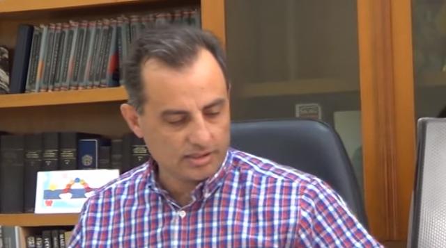 Γ. Τούμπος, πρόεδρος της Ένωσης Μαστιχοπαραγωγών Χίου