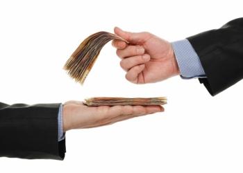 giving money