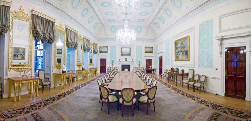 Carpenter Turner: Επίσημο δείπνο στο Adams room των Lloyds's