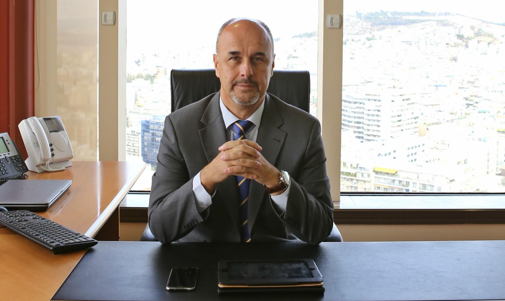 ο κ. Μανώλης Κούτης, Διευθυντής Πωλήσεων στην Interamerican