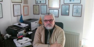 Ο κ. Κωσταντίνος Νάστος, Διευθυντής Γραφείου Ευρωπαικής Πίστης στην πόλη της Λάρισας