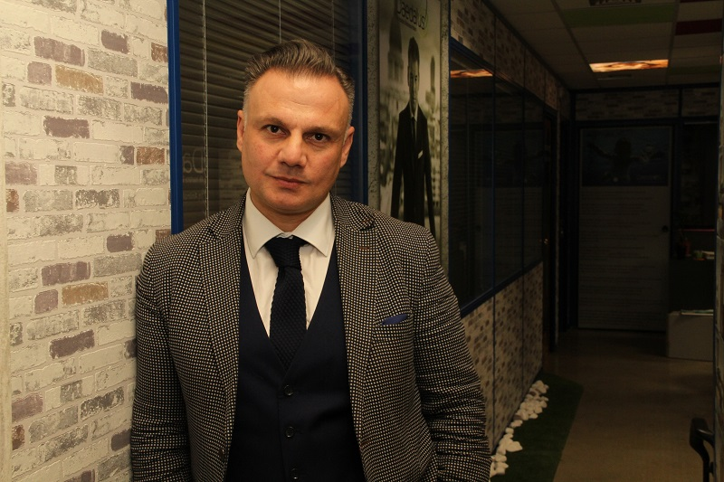 Κωνσταντίνος Φωτόπουλος,  Διευθύνων Σύμβουλος στην Daedalus Life Insurance & Reinsurance Brokers