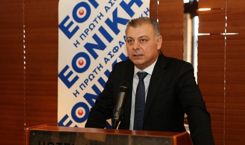 Ο κ. Δασκαλόπουλος, Αναπλ. Γενικός Διευθυντής της Εθνικής Ασφαλιστικής