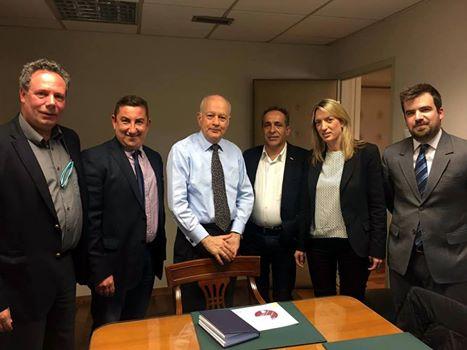 Εκπρόσωποι Ενώσεων Τύπου: Συνάντηση με τον Υπουργό Οικονομίας Ανάπτυξης & Τουρισμού