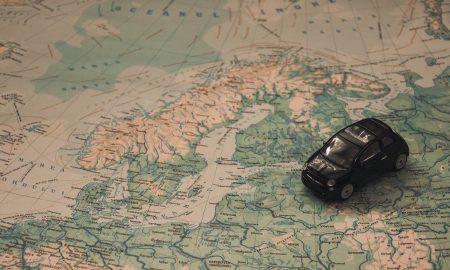 Αυτοκινητο, χάρτης, ταξιδι
