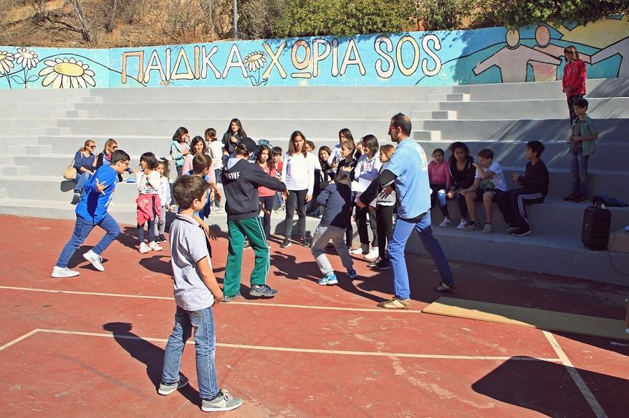 Groupama & Παιδικά Χωριά SOS