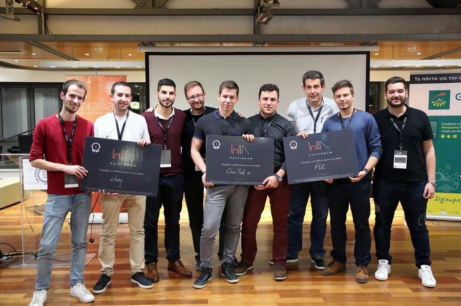 HackInnow 2017 winners