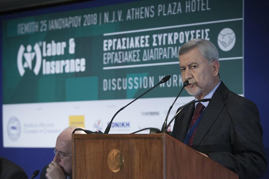 Ο Πρόεδρος του Οργανισµού Μεσολάβησης και ∆ιαιτησίας (ΟΜΕ∆) κ. Άγγελος Ζησιµόπουλος
