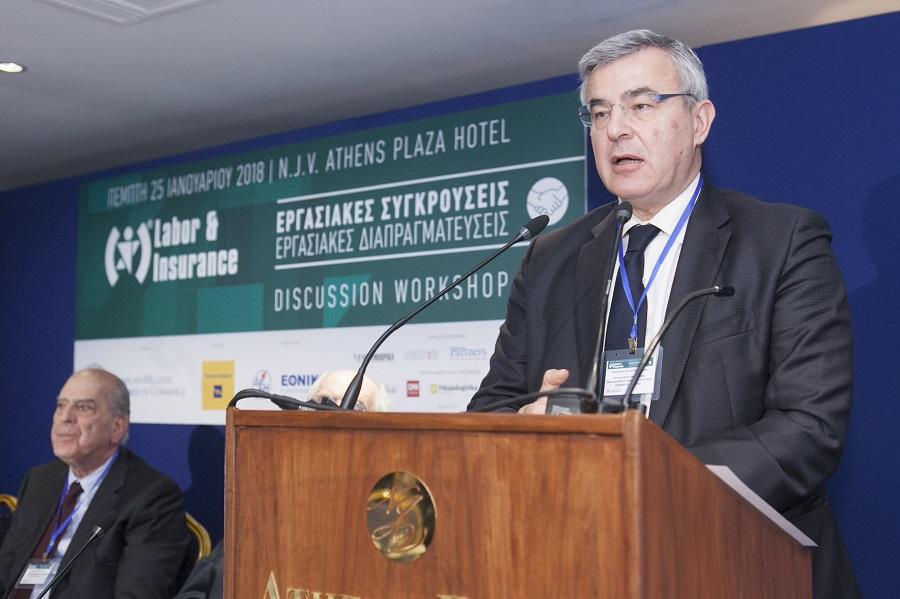 Ο Γενικός Γραµµατέας του Οργανισµού Προώθησης Εναλλακτικών Μεθόδων Επίλυσης ∆ιαφορών (ΟΠΕΜΕ∆), κ. Νικόλαος Κανελλόπουλος