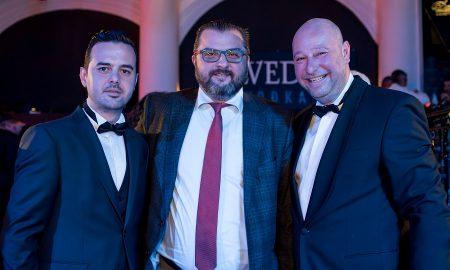 Γκαβογιάννης, Ηλιακόπουλος και Φλοκας σε κεδήλωση βραβευσεων της Floga