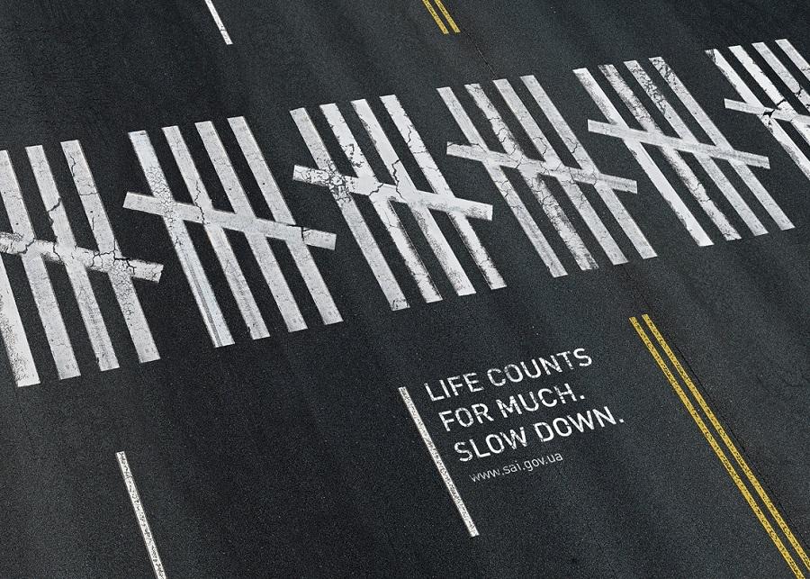 δρόμος με διασταυρωση μηνυμα