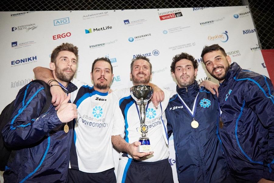 Η πρωταθλήτρια ΠΑΣΦΕ 2017-18 «Επιθεώρηση Φουφόπουλου»