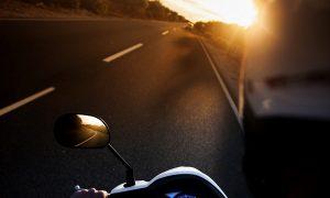 automobile-biker