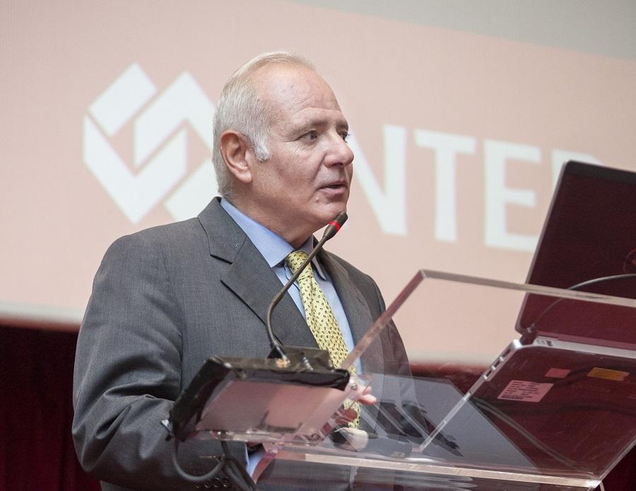 Ο Κώστας Τσολακίδης, τεχνικός σύμβουλος περιβαλλοντικών ασφαλίσεων της INTERAMERICAN, στο Climate Change Conference