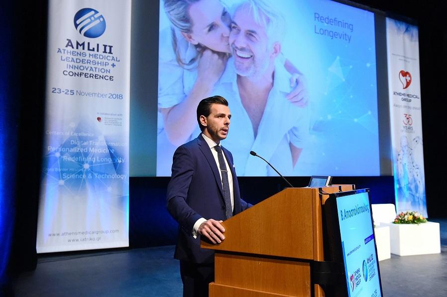 O Δρ. Βασίλης Αποστολόπουλος, Διευθύνων Σύμβουλος Ομίλου Ιατρικού Αθηνών