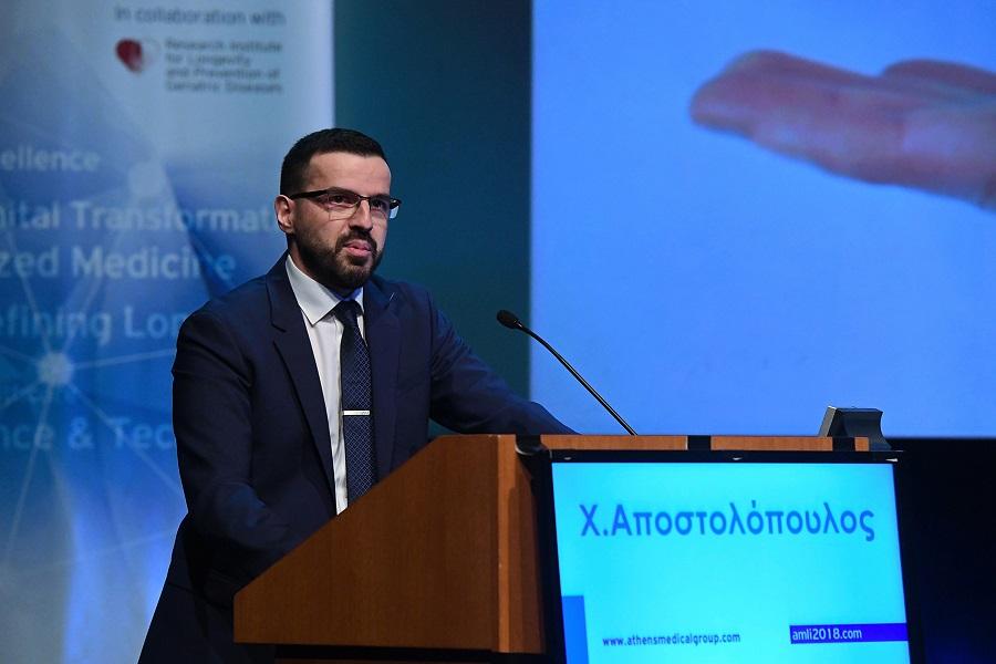 Χρήστος Αποστολόπουλος, Αντιπρόεδρος του Ομίλου Ιατρικού Αθηνών