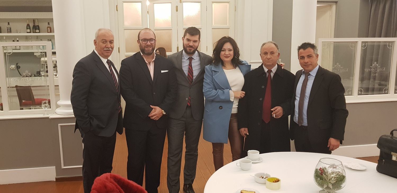 (από αριστερά) Χρ. Σοφός, Φ. Παπαδόπουλος, Θρ. Σοφός, Δημ. Κάσσαρη, Γ. Παπαδόπουλος & Χρ. Μαδιάς