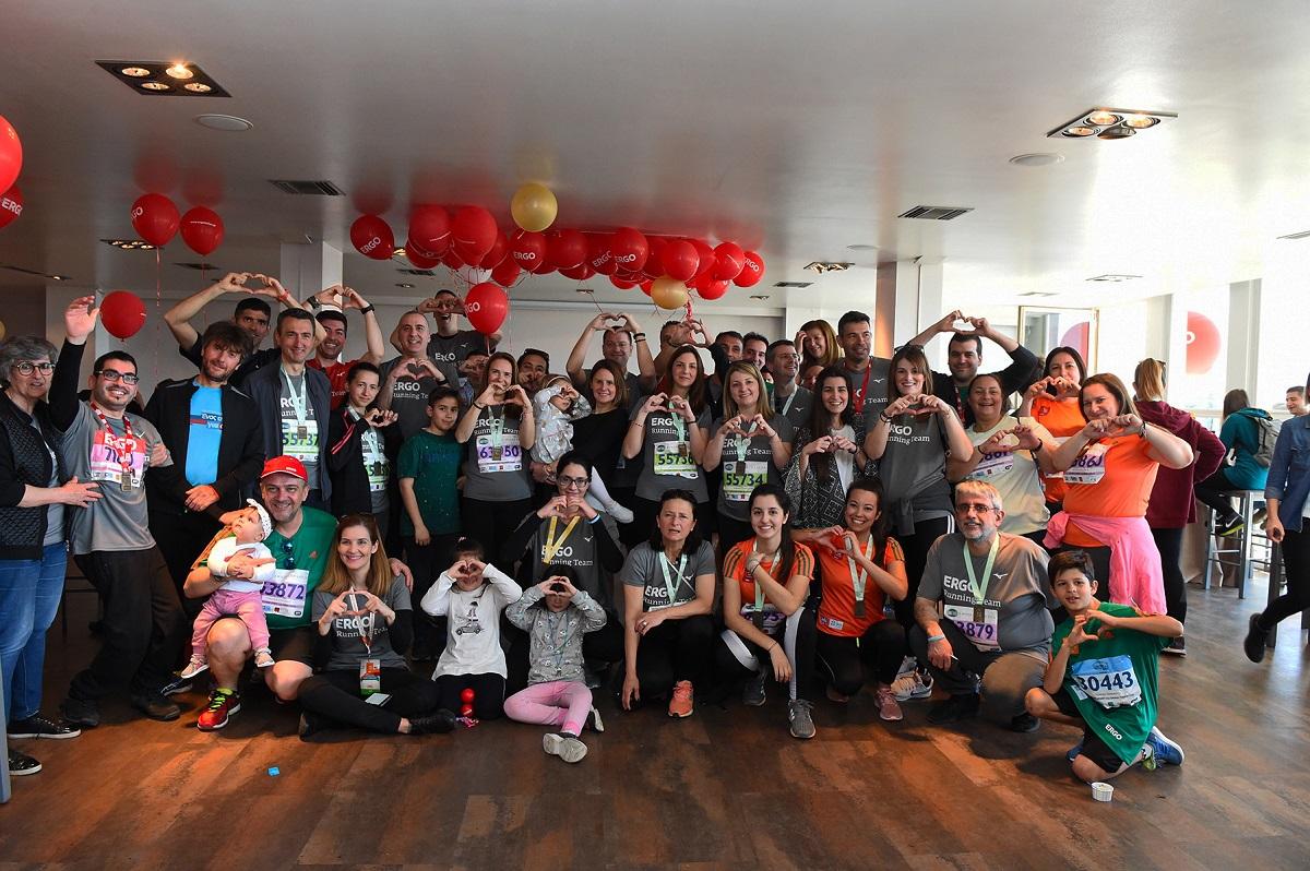 13. Μέλη της ERGO Running Team στο After Race Event