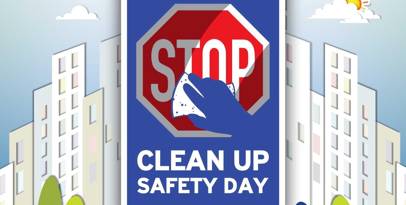 Μονόφυλλο Clean Up Safety Day