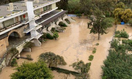 Καταστροφές από πλημμύρα σε ξενοδοχείο (Κρήτη), που αποζημίωσε η INTERAMERICAN.