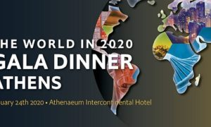 The world in 2020 Gala Dinner