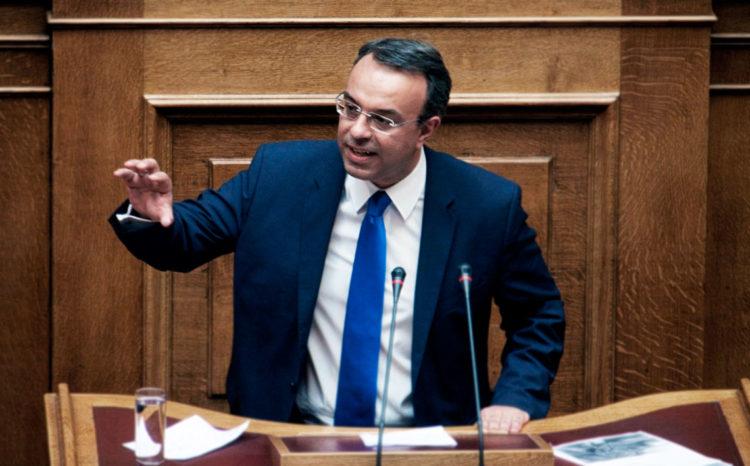 Ο Χρήστος Σταϊκούρας είναι Έλληνας ακαδημαϊκός, πολιτικός, βουλευτής Φθιώτιδος της Νέας Δημοκρατίας και Υπουργός Οικονομικών της Κυβέρνησης Κυριάκου Μητσοτάκη 2019.
